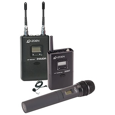 Azden® 310LH Professional On-Camera UHF Wireless Handheld Microphone System