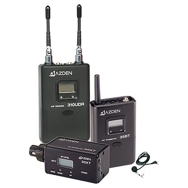 Azden® 310LX Professional On-Camera UHF XLR and Lavaliere Microphone System