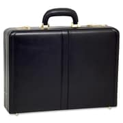 McKlein® Harper V Expandable Attache Case, Black