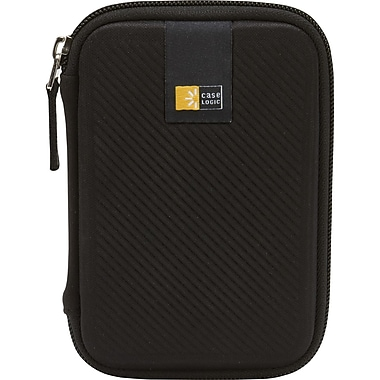 Case Logic® EHDC-101 Portable Hard Drive Case, Black