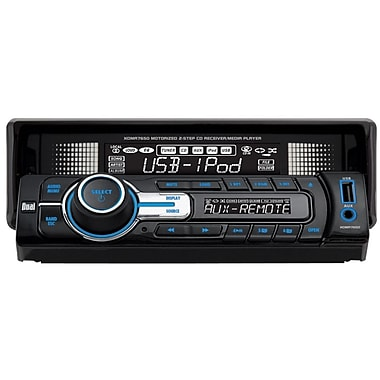 Dual® XDMA7650 In-Dash Single Din AM/FM Receiver Wih Direct USB Control