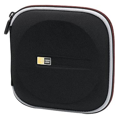 Case Logic® Molded EVA Foam 24 CD Wallet, Black/Red, Each