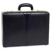 McKlein® Turner V Expandable Attache Case, Black