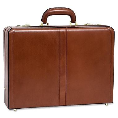 McKlein® Harper V Expandable Attache Case, Brown