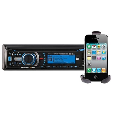 Dual® XDMA6540 Car CD/MP3 Player With Bluetooth For iPod/iPhone