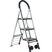 Conair® Travel Smart® Ladderkart™ TS32LHT Professional Grade Stepladder/Hand Cart