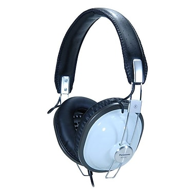 Panasonic® RP-HTX7 Retro-Style Monitor Headphones, Black/Blue