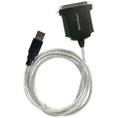 Gear Head™ 6' High Speed USB Parallel Adapter