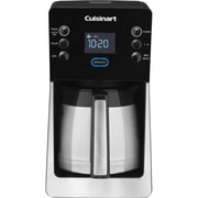 Cuisinart® Perfec Temp® 12 Cup Programmable Thermal Coffeemaker, Silver/Black