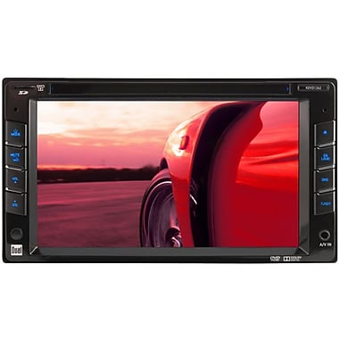 Dual® XDVD1262 Double-Din CD/DVD Receiver With 6.2in. Touchscreen LED Monitor