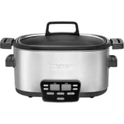 Cuisinart 6 qt. Brushed Stainless Steel Cook Central 3-in-1 Multicooker