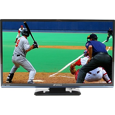 Sansui Accu 1366 x 768 24-inch LED LCD 3D TV, Black