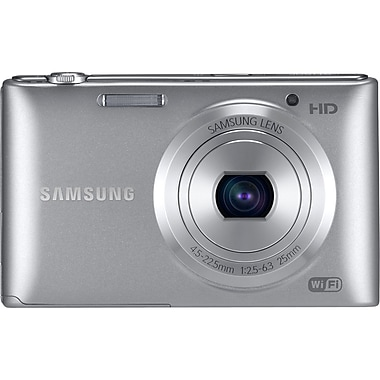 Samsung ST150F 16.2 MP Compact Camera With 5x Zoom, Silver