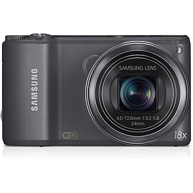 Samsung WB250 14.2 MP SMART Camera With 18x Zoom, Gunmetal
