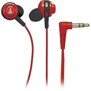Audio-Technica ATH-COR150RD Core Bass In-Ear Headphone, Red