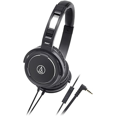 Audio-Technica® Solid Bass™ ATH-WS55i Over-The-Ear Headset