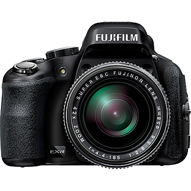 Fujifilm Finepix HS50EXR 16 MP Full HD All-in-One Bridge Camera With 42x Manual Optical Zoom, Black