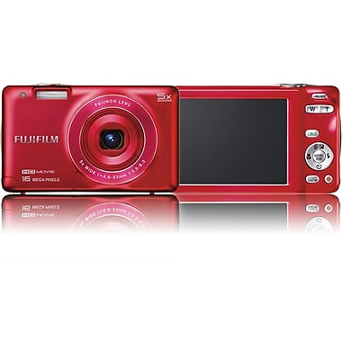 Fujifilm Finepix JX680 16 MP Compact Camera With 5x Optical Zoom, Red
