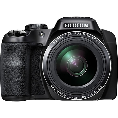 Fujifilm Finepix S8400W 16.2 MP Full HD Bridge Camera, Black