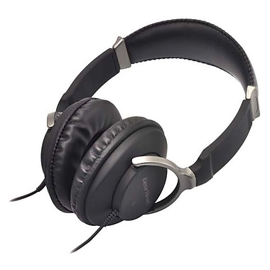 Gear Head™ HS2750S Universal Stereo Headset With Microphone, Black