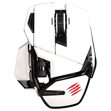 Mad Catz® M.O.U.S. 9 Wireless Mouse, White