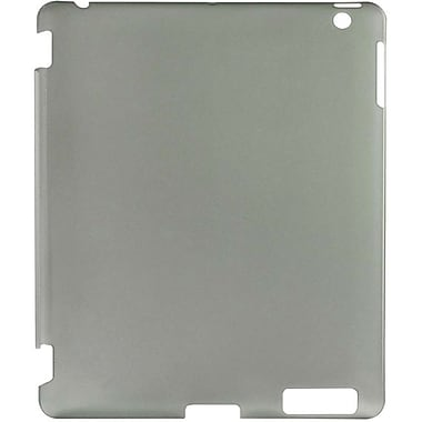 Gear Head™ Duraflex Back Cover For iPad 2/3/4, Smoke