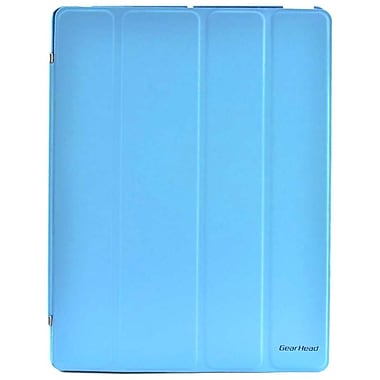 Gear Head™ Smart Portfolio Stand For iPad 2/3/4, Blue