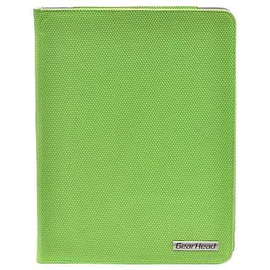 Gear Head™ Slim Portfolio Stand For iPad 2/3/4, Green