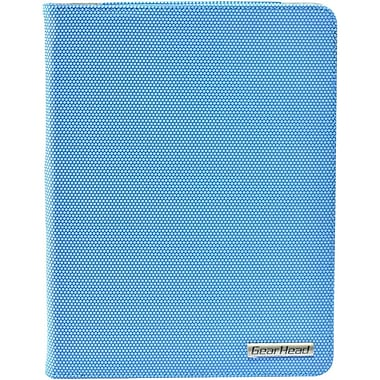 Gear Head FS4200BLU Microfiber Port Folio Case for Apple iPad, Blue