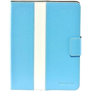 Gear Head™ Leather Style Executive Portfolio For iPad 2/3/4, Blue