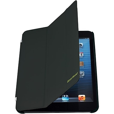 Gear Head™ Smart Portfolio Stand For iPad mini, Black