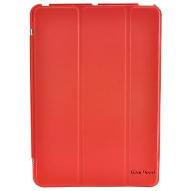 Gear Head™ Smart Portfolio Stand For iPad mini, Red