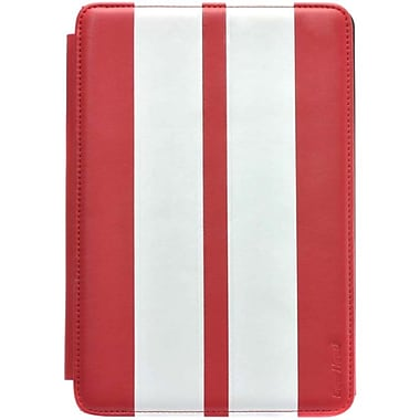 Gear Head™ Leather Style Executive Portfolio For iPad mini, Red