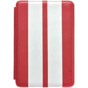 Gear Head FS3300RED Leather Port Folio Case for Apple iPad Mini, White/Red