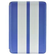 Gear Head FS3300BLU Leather Port Folio Case for Apple iPad Mini, White/Blue