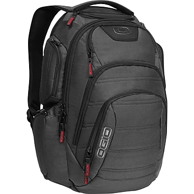 OGIO® Renegade RSS 111071.317 Backpack For 17in. Laptop, Black
