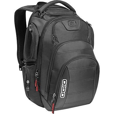 """""OGIO Gambit Laptop Backpack For 17"""""""" Notebooks, Black"""""" IM1QZ5597"