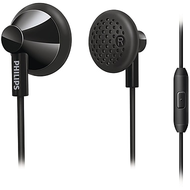 Philips SHE2105/28 In Ear Headphones With Mic, Black