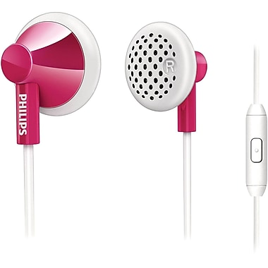 Philips SHE2105/28 In Ear Headphones With Mic, Pink
