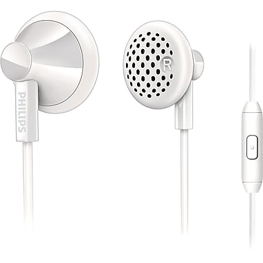 Philips SHE2105/28 In Ear Headphones With Mic, White