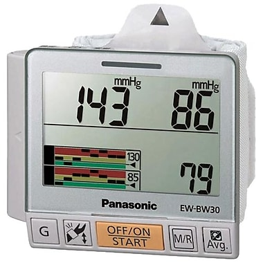 Panasonic® Wrist Blood Pressure Monitor With Trend Graph Display