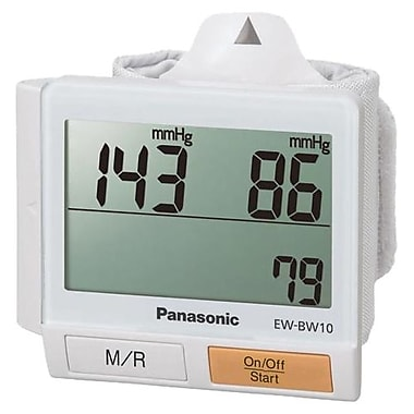 Panasonic® Wrist Blood Pressure Monitor, White