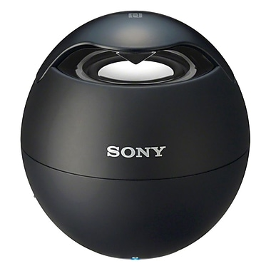 Sony SRSBTV5/BLK Rechargeable Portable Bluetooth Speaker With Speakerphone, Black