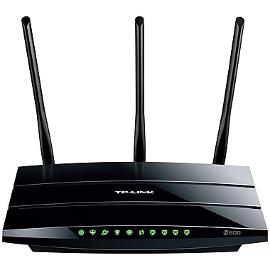 TP-LINK® N600 Wireless Dual Band Gigabit ADSL2+ Modem Router, 2 GHz
