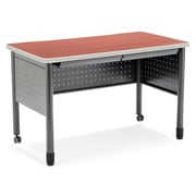 OFM Mesa Standard Training Table/Desk with Drawers, Cherry (66120-CHY)