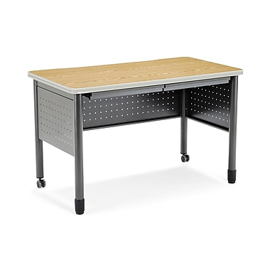 OFM Mesa Series 66120-CHY Training Table/Desk, Oak