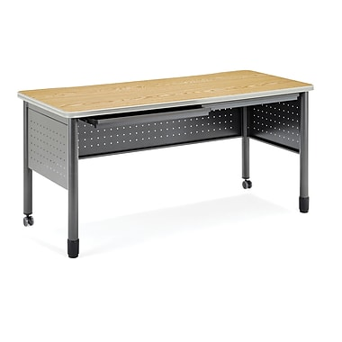 OFM Mesa Series Training Table, Oak
