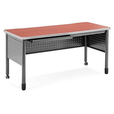 OFM Mesa Standard Training Table/Desk with Drawers, Cherry (66150-CHY)