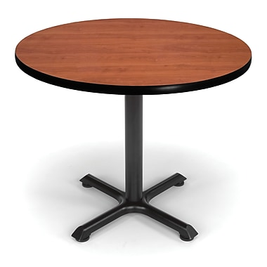 OFM X-Series 36in. Round Multi-Purpose Table, Cherry