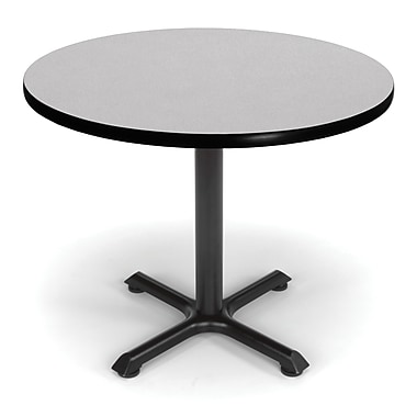 OFM X-Series 36in. Round Multi-Purpose Table, Gray Nebula